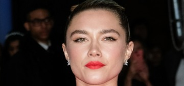 Florence Pugh in Dries Van Noten at the BAFTAs: another bonkers look?
