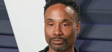 Billy Porter wore his Oscar gown for an appearance on 'Sesame Street'