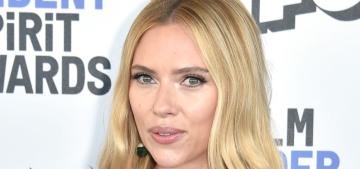 Scarlett Johansson in Balmain at the Spirit Awards: cute, retro or blah?