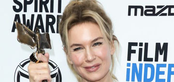 Renee Zellweger wins the Oscar for Best Actress for 'Judy'