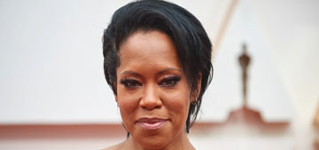 Regina King in Versace at the Oscars: phenomenal, one of the best dressed?