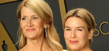 Renee Zellweger v. Laura Dern: which Oscar-winner got the better Armani?