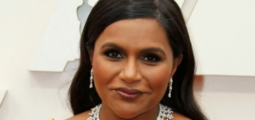 Mindy Kaling in mustard Dolce & Gabbana: one of the best looks of the Oscars?