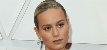 Brie Larson in Celine at the Oscars: perfect and stunning?