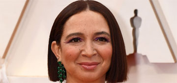 Maya Rudolph in Valentino at the Oscars: surprisingly good for her?