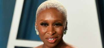 Cynthia Erivo in Versace at the VF Oscar party: better than her Oscars dress?