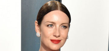 Caitriona Balfe in Prabal Gurung at the VF Oscar Party: better than her Oscars dress?