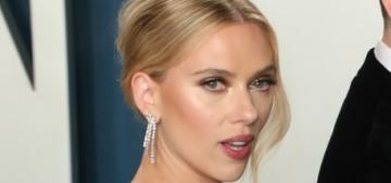 Scarlett Johansson in Oscar de la Renta at the VF party: cute or budget?