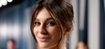 Camila Morrone in Ralph Lauren at the VF Oscar party: cute or boring?