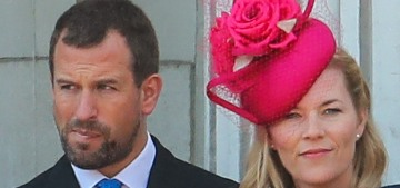 Peter Phillips & Autumn Phillips separated, she left him & might go back to Canada?