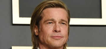 Brad Pitt says he 'definitely writes' his speeches, with the help of 'very funny friends'