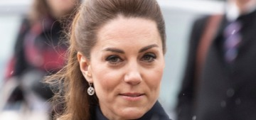 Duchess Kate steps out in McQueen, alongside William, Charles & Camilla