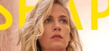 January Jones: 'I don't deprive myself of anything, there's no diet or strict set of rules'