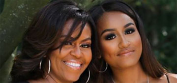 Michelle Obama on teaching her daughters body acceptance