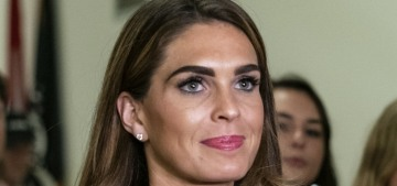 Hope Hicks will return to the White House after her sad MAGA years in LA