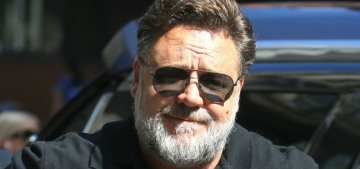 Russell Crowe is hiding out until he loses weight, he's 'embarrassed' at his weight gain