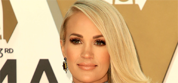 Carrie Underwood's son thinks she's 70 and that her job is to do the laundry