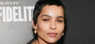 Zoe Kravitz slams 'Girls' & Woody Allen's films for their lack of diversity