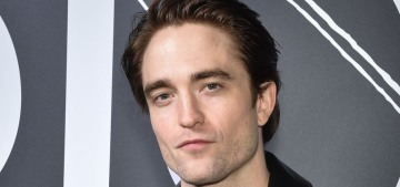 Robert Pattinson: 'Lots of people tell me I smell like a crayon…Like I'm embalmed'