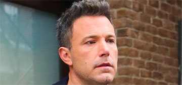 Ben Affleck opens up to the NYT: 'The biggest regret of my life is this divorce'