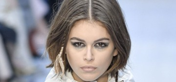 Kaia Gerber is trying to take her face-tattooed older bro Presley 'under her wing'