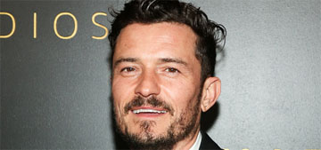 Orlando Bloom corrected his misspelled Morse code tattoo of his son's name
