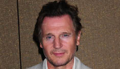 Liam Neeson's first red carpet appearance since Natasha's death