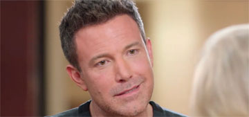 Ben Affleck: 'I really don't want my children to pay for my sins'