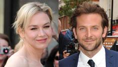Renee Zellweger & Bradley Cooper's ass-grabbing Spanish romance