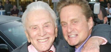 Kirk Douglas left the bulk of his estate to charity, not to his widow or sons