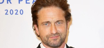 Gerard Butler looked great at the 'Cinema for Peace' gala: should we re-stan?