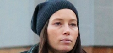 Justin Timberlake & Jessica Biel step out with son Silas in New York