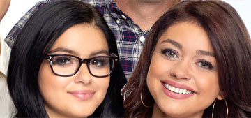Sarah Hyland defends 'sister' Ariel Winter's Modern Family wrap party dress