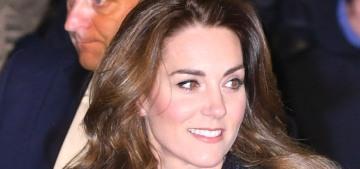 Duchess Kate in Eponine at 'Dear Evan Hansen' in London: funereal or keen?