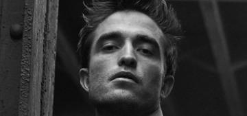 Robert Pattinson raves about sheet masks & ASAP Rocky's 'serious style'