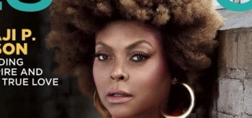 Taraji P. Henson: 'Look at where we are. It doesn't help my anxiety and depression'