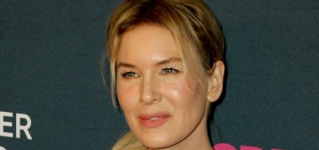 Renee Zellweger in black Gucci for a cancer research gala: stunning?