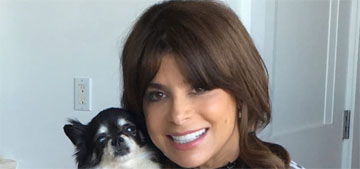 Two of Paula Abdul's dogs passed away the same week