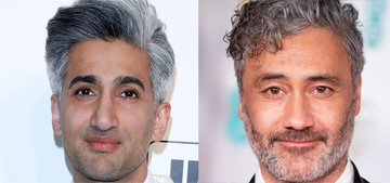 Tan France keeps getting mistaken for Taika Waititi, just goes with it