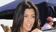 Kourtney Kardashian is pregnant (Update: father is Scott Disick)