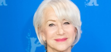 Helen Mirren: 'I was always too lazy to color my hair. I just couldn't be bothered'