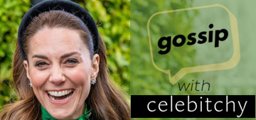 'Gossip with Celebitchy' podcast #42: Kate cosplayed the Irish flag down to the day
