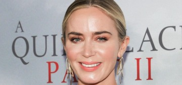 Emily Blunt in McQueen for 'The Quiet Place II' NYC premiere: cute or dated?