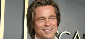 Brad Pitt was seen with a 'mystery woman' at an Thundercat concert in LA