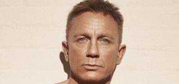 Daniel Craig makes landlines sexy again on the cover of British GQ