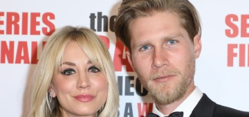 Kaley Cuoco won't move in with her husband until 21 months after their wedding