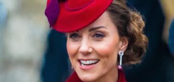 Duchess Kate's ruby & diamond earrings were part of a lowkey jewelry mystery