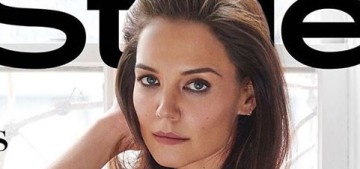 Katie Holmes: 'You know what's so upsetting about the 40s? My old tricks don't work'