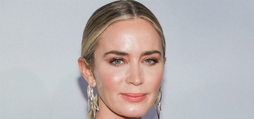 Emily Blunt: Judi Dench told me to be an actress and not a pop star