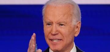 Joe Biden pledges to choose a female VP & appoint a black woman to SCOTUS